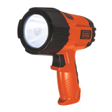 Black+Decker LED Alkaline spotlight